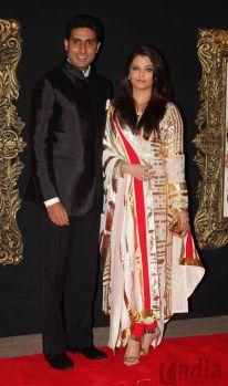 Abhishek Bachchan with wife Aishwarya Rai Bachan