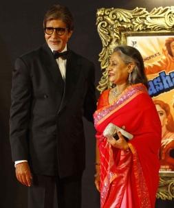 Amitabh Bachan with Jiya Bachchan