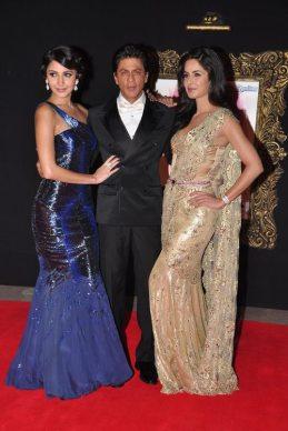 Anushka Sharma, SRK & Katrina Kaif