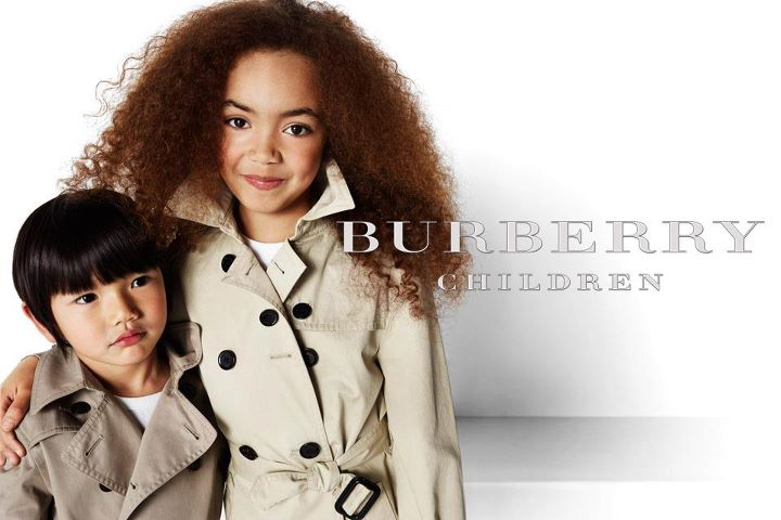 The Adorable Burberry Kids 2012 Campaign