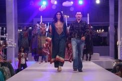 Meesha Shafi with Ali Asif (Director Five Star)