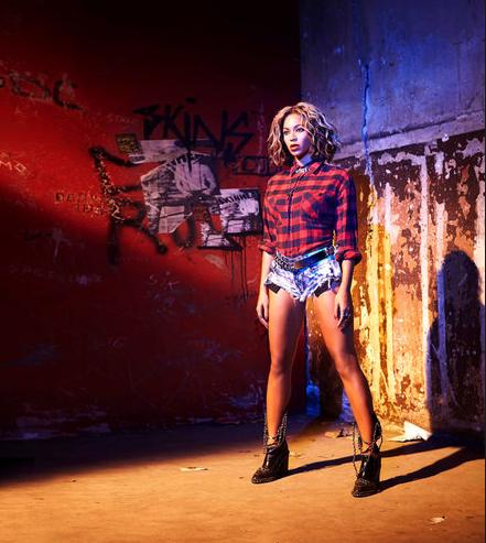 09-Grunge Beyonce