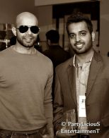 Ahmer & Bilal Mukhtar at PFDC High Street Store Launch 2013
