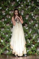 Aliha Chaudhry at Saadia Mirza's Nur ul Aine Collection Showcase 2013