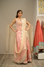 Fauzia Aman wearing a Nida Azwer Ensemble [F]
