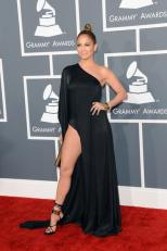 Jennifer Lopez - Red Carpet Stunners at Grammy Awards 2013