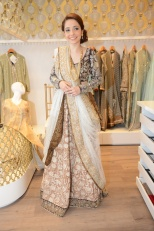 Juggun Kazim wearing a Nida Azwer Ensemble [F]