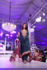Meesha Shafi - JJ Valaya Debut Lawn Collection 2013