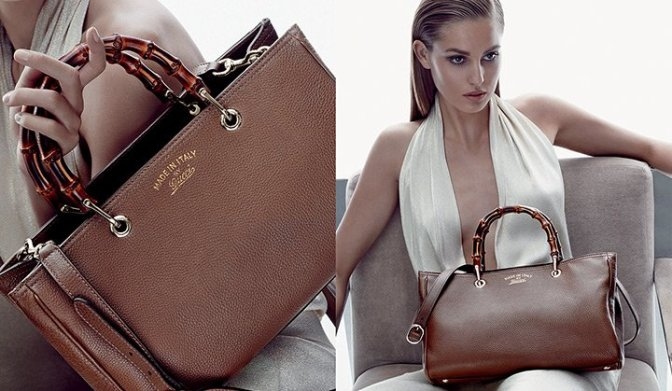 Cruise 2014 Accessories Campaign by Gucci