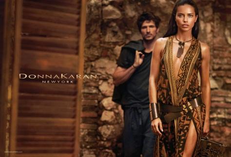 Adriana Lima for Donna Karan 2014