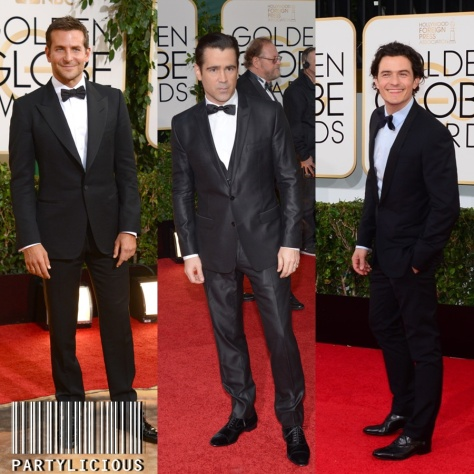 Bradley Cooper, Colin Farrell and Orlando Bloom