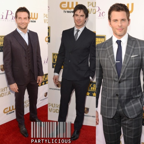 Bradley Cooper, Ian Somerhalder and James Marsden