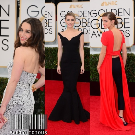 Emilia Clarke, Emma Roberts and Emma Watson