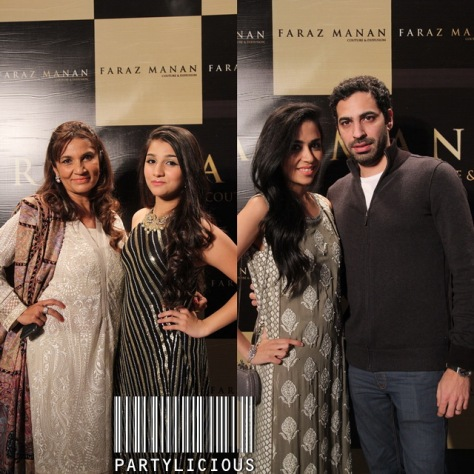 Frieha Altaf with Pareshay and Maha Burney with Nadir Feroze