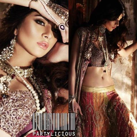 Huma Khan for Designer Sahar Atif 1