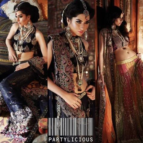Huma Khan for Designer Sahar Atif 2