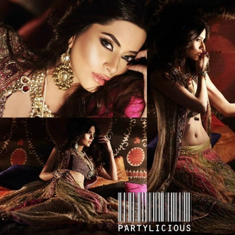 Huma Khan for Designer Sahar Atif 3