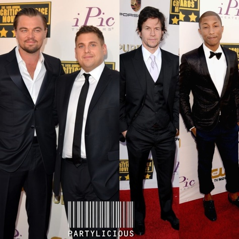 Leonardo DiCaprio & Jonah Hill, Mark Wahlberg and Pharell Williams