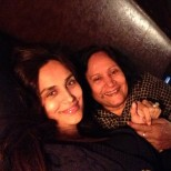 Mehreen Syed with her mom (@imehreensyed)