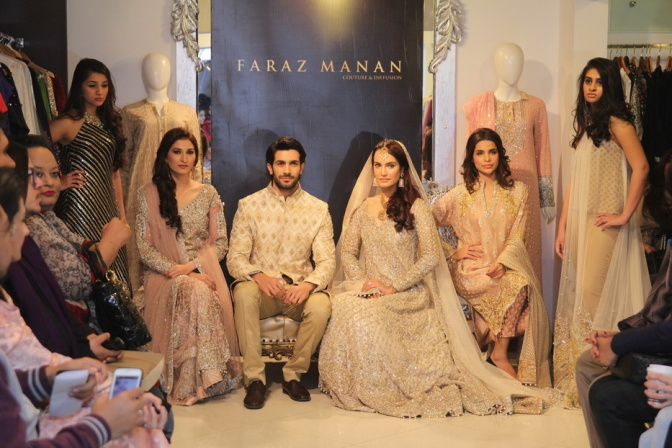 'Nawabi Collection' a Couture & Diffusion feature by Faraz Manan
