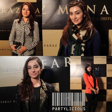 Saman Abid, Sarwat Gillani, Ayesha Khan and Adeela Pasha
