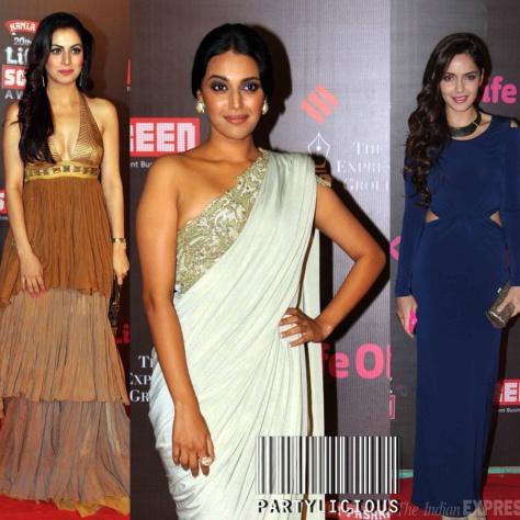 Shraddha Arya, Swara Bhaskar and Shazahn Padamsee