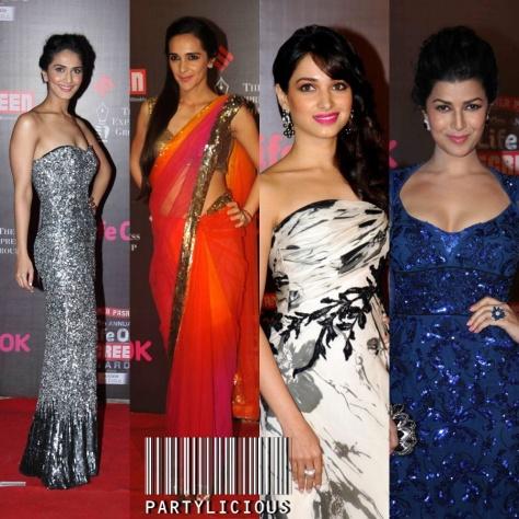 Vaani Kapoor, Tara Sharma, Tamannah Bhatia and Nimrat Kaur
