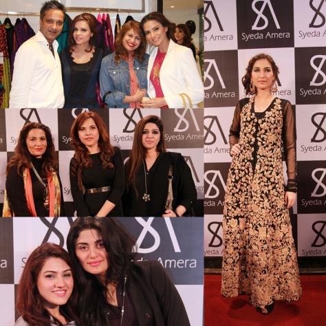 Adnan, Fozia, Huma & Sadaf, Frieha Altaf, Sayeda Amera & Perveen Gehri, Saman Abid & Konain, and Abeer Adeel