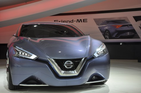 Friend-ME concept car by Nissan Motor Co