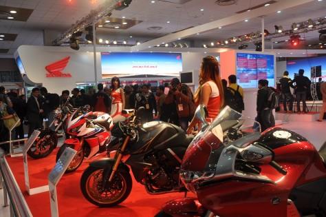 Honda Motor Co Stall